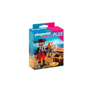 Playmobil 4783 Pirata con cofre del Tesoro