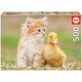 PUZZLE EDUCA 500 AMIGOS ADORABLES