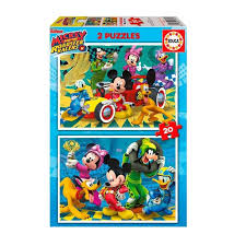 PUZZLES 2X20 MICKEY & THE ROADSTER EDUCA