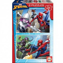 PUZZLES EDUCA 2×48 SPIDER-MAN