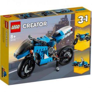 SUPERMOTO LEGO 31114